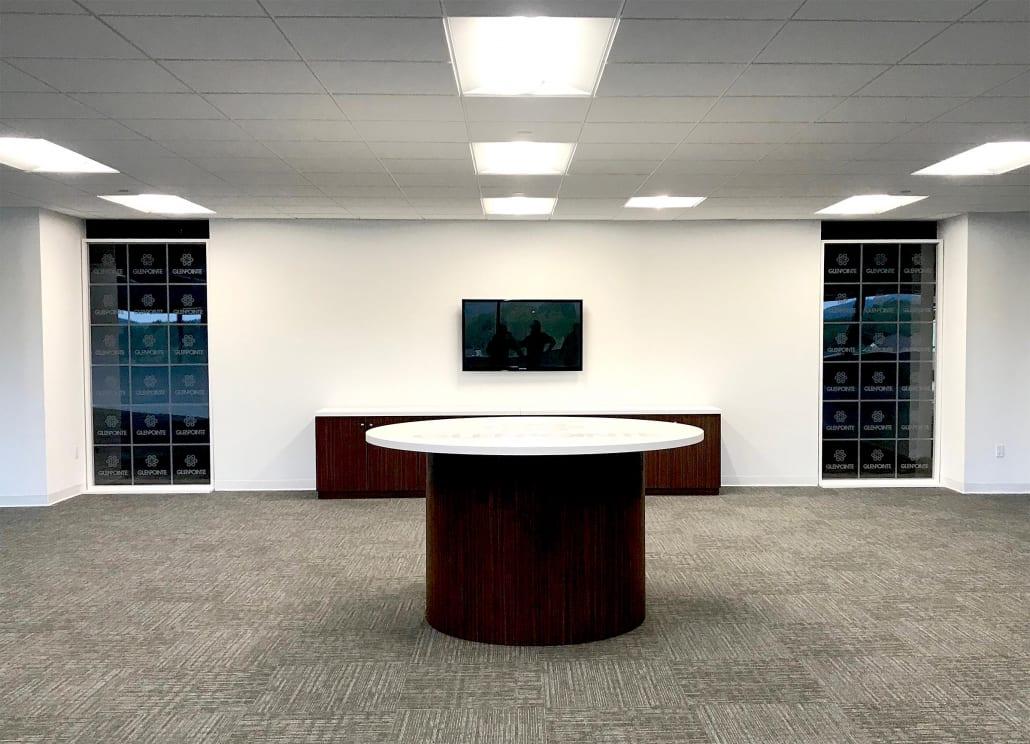 Vinyl Decal Office Display