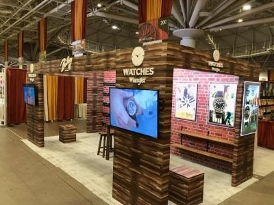 Tradeshow booth nyc