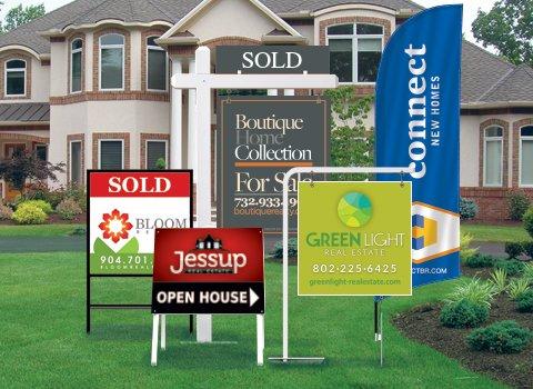 Custom Real Estate Yard Sign Long Island 11956