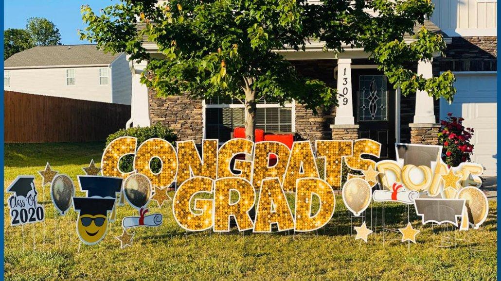 Graduation Lawn Signs services long island ny
